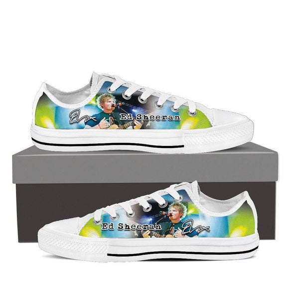 ed sheeran mens low cut sneakers