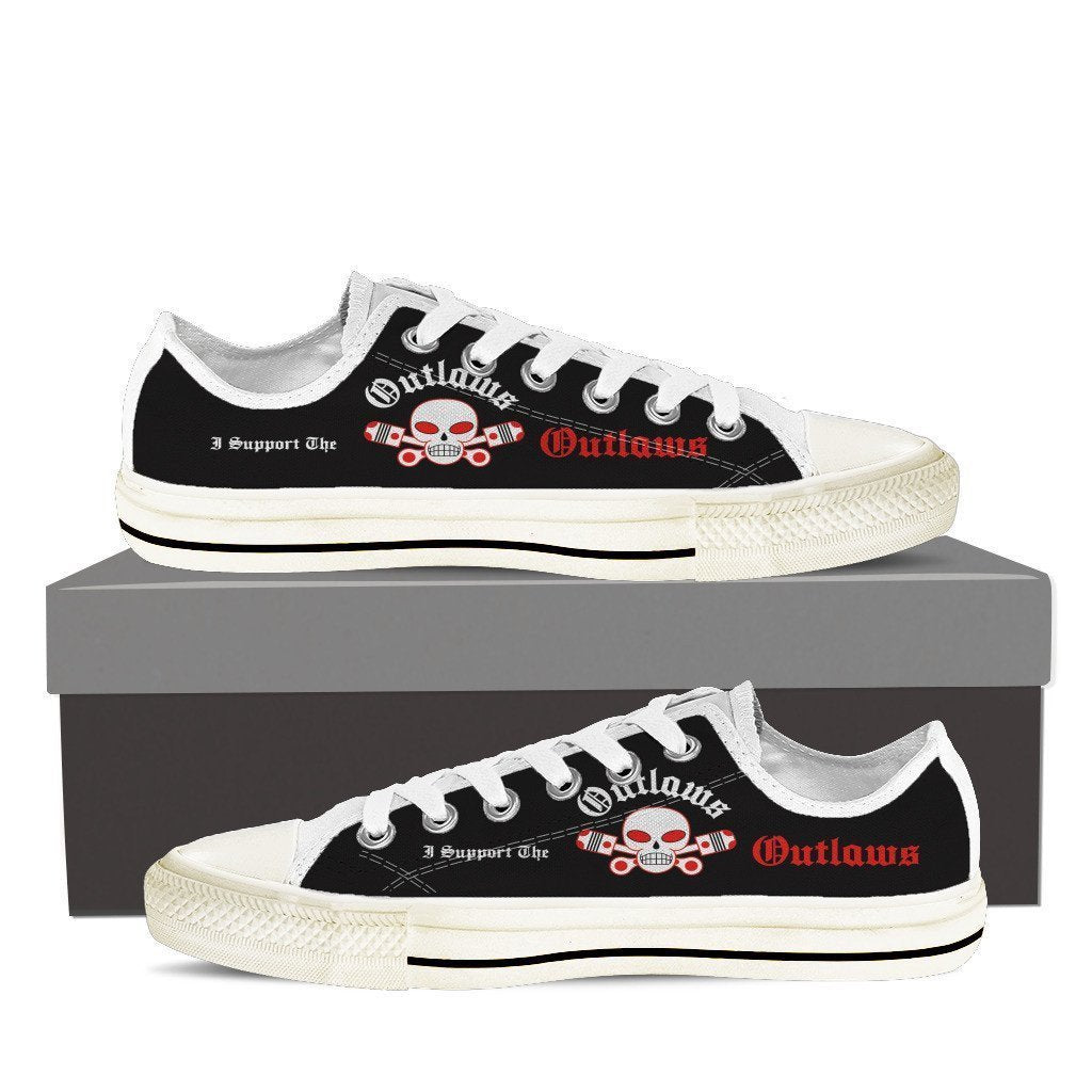 outlaws supporter ladies low cut sneakers