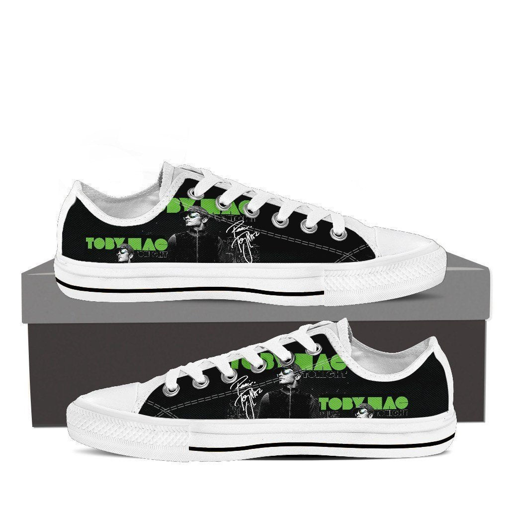 tobymac ladies low cut sneakers