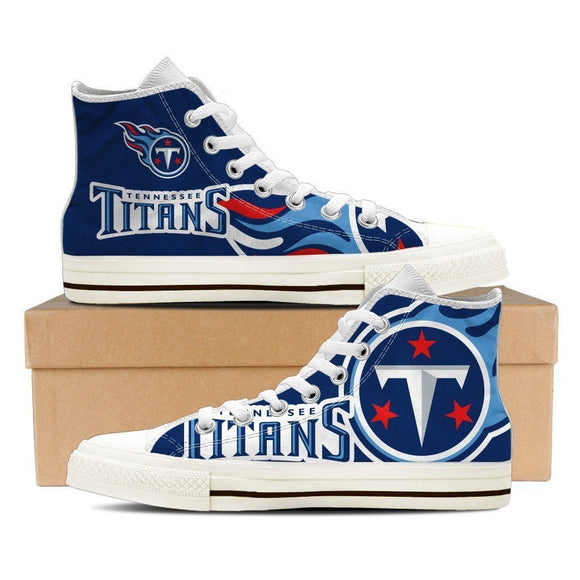 tennessee titans ladies high top sneakers