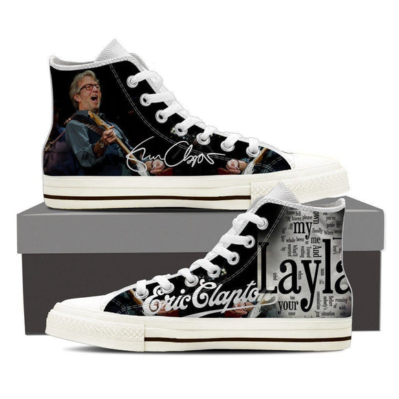 eric clapton ladies high top sneakers