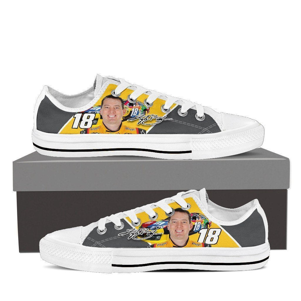 kyle busch ladies low cut sneakers