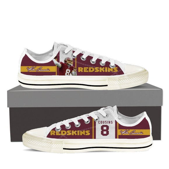 kirk cousins mens low cut sneakers cut