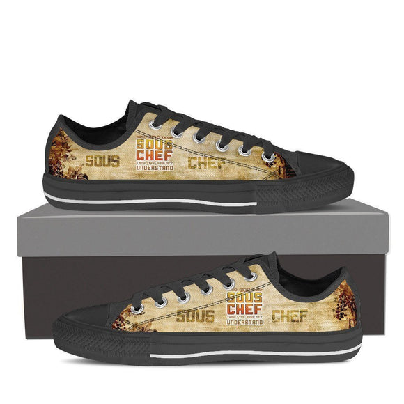 sous chefs ladies low cut sneakers