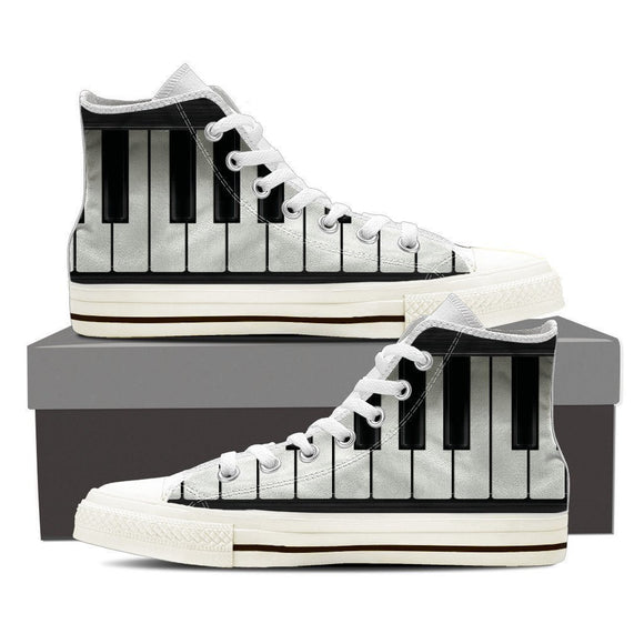 piano sneaker mens high top sneakers high top