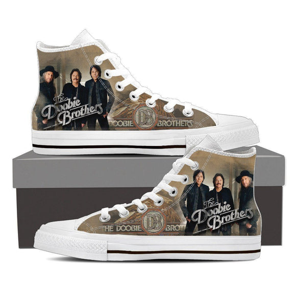 the doobie brothers mens high top sneakers