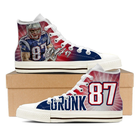 rob gronkowski ladies high top sneakers