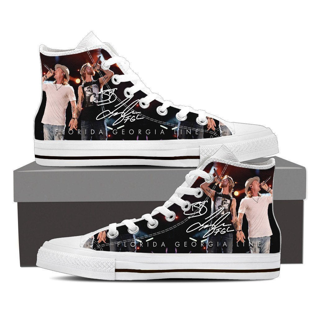 florida georgia line mens high top sneakers