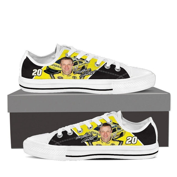 matt kenseth mens low cut sneakers