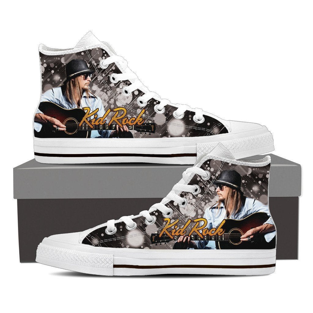 kid rock new ladies high top sneakers