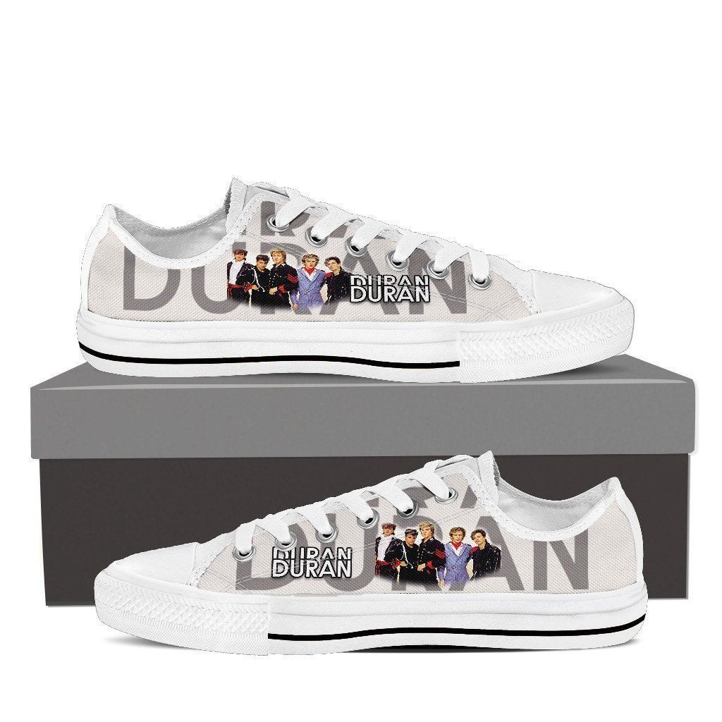 duran duran new ladies low cut sneakers