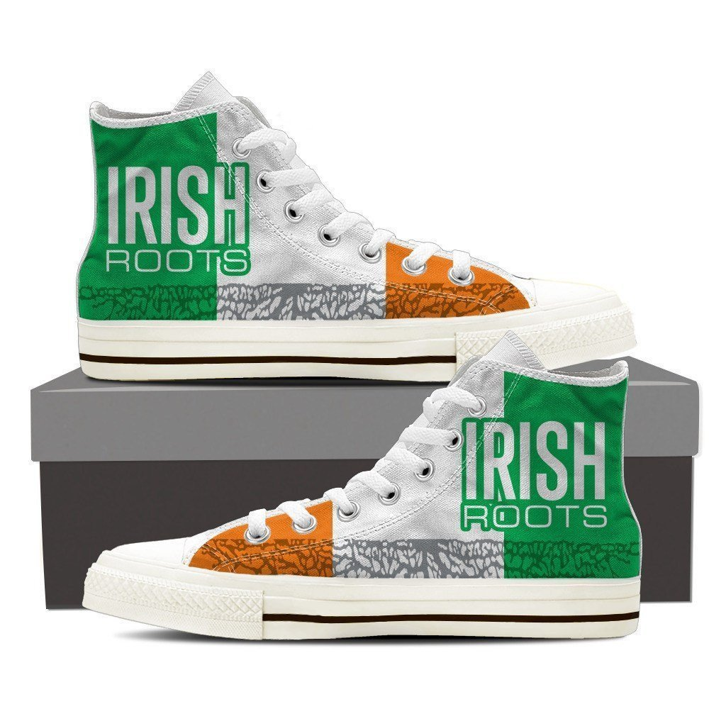 irish roots new mens high top sneakers high top