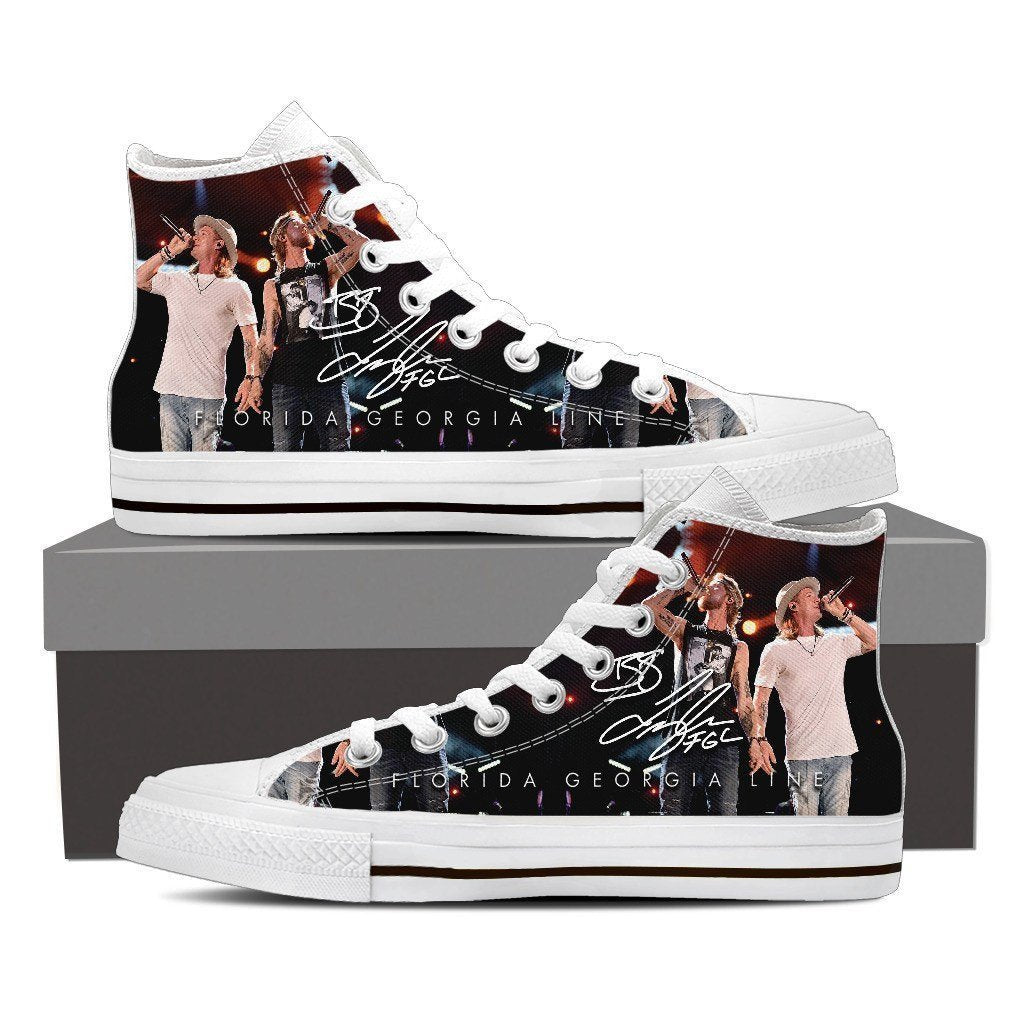 florida georgia line ladies high top sneakers
