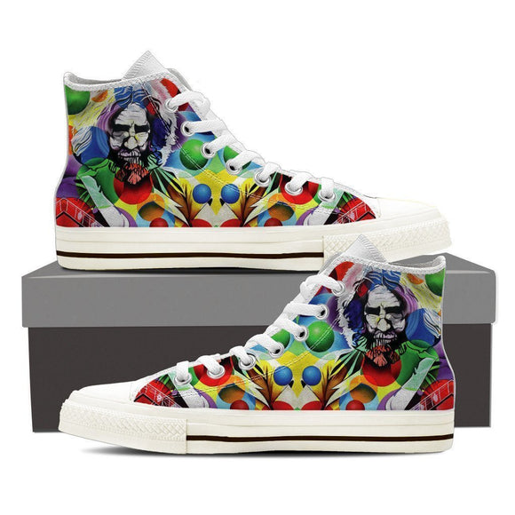 jerry garcia ladies high top sneakers