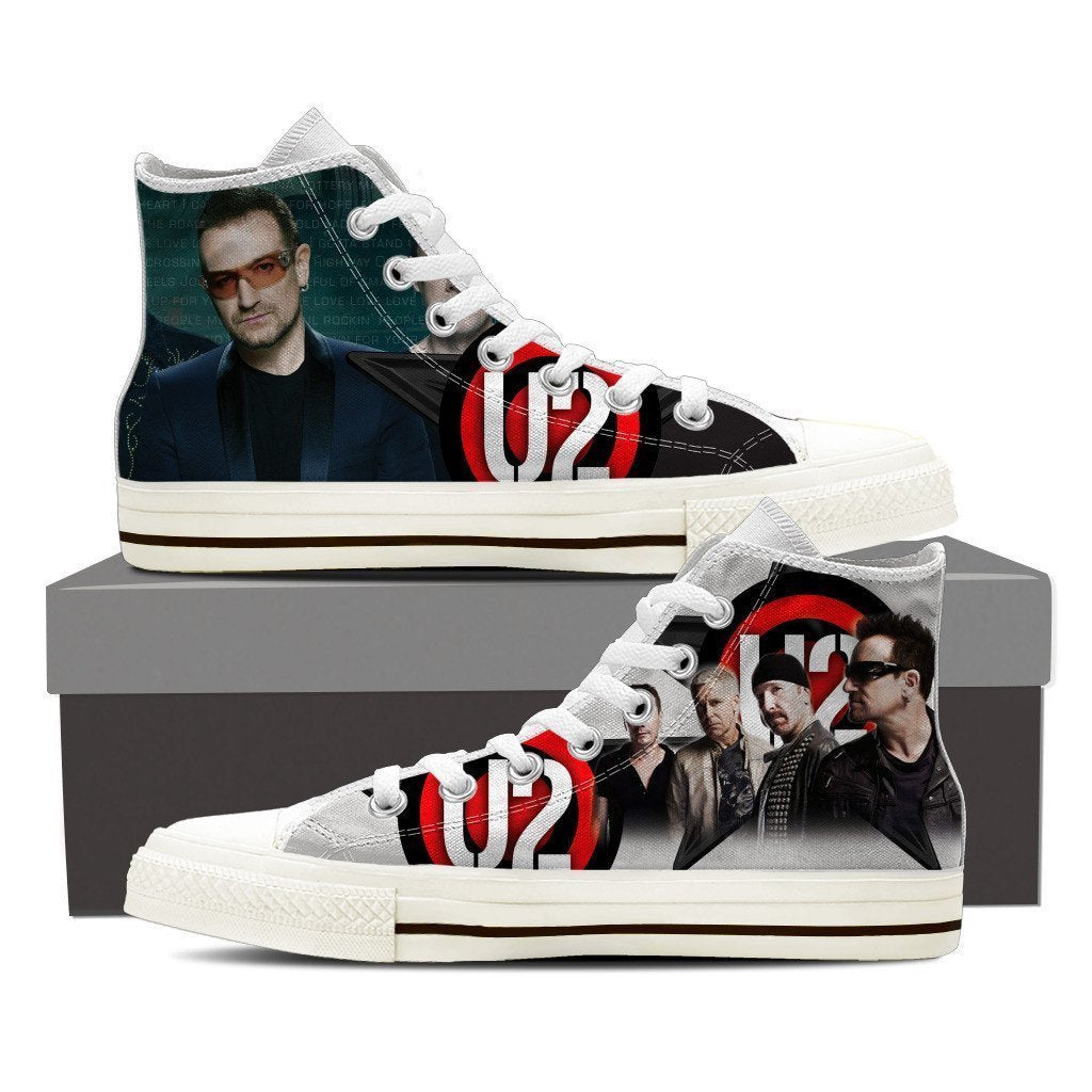 u2 mens high top sneakers