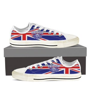 british roots new ladies low cut sneakers