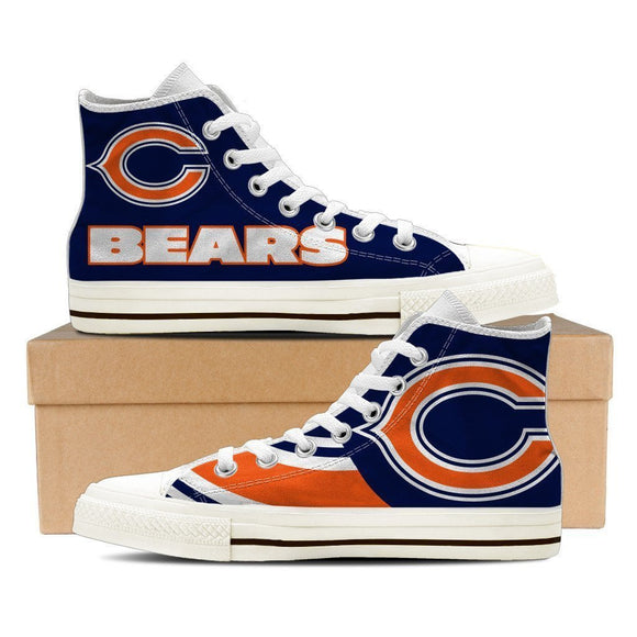 chicago bears mens high top sneakers high top