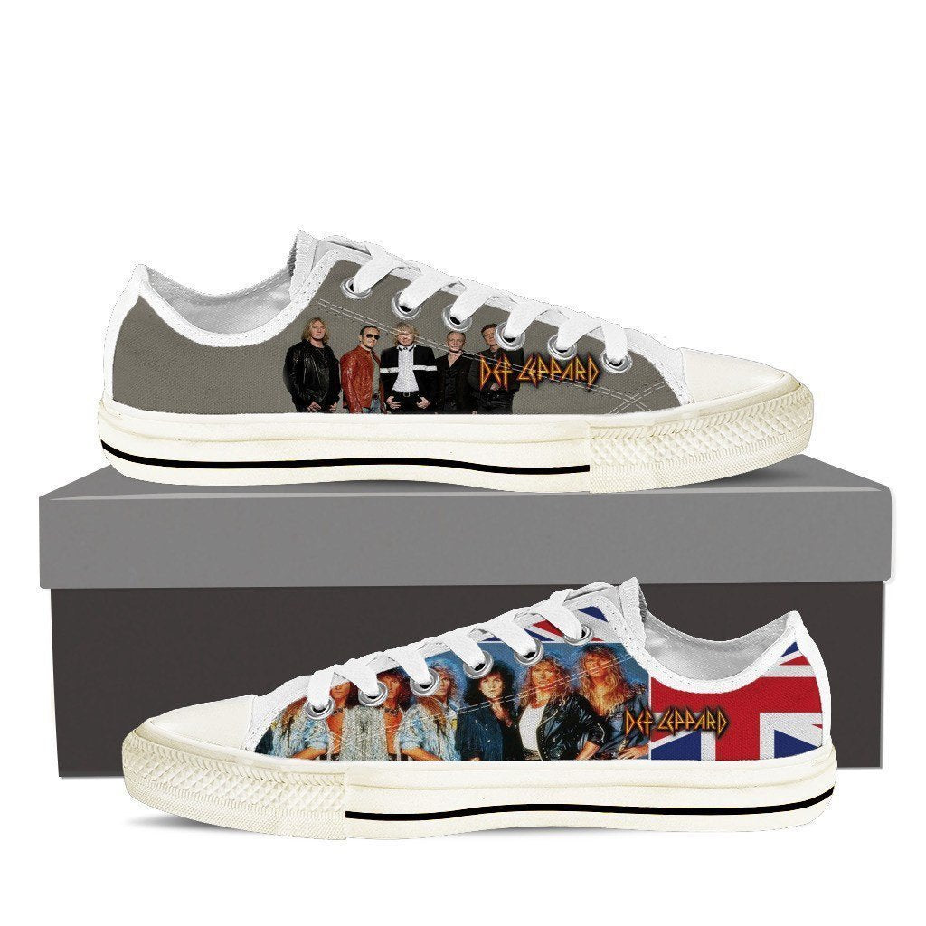 def leppard ladies low cut sneakers