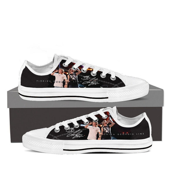 florida georgia line ladies low cut sneakers
