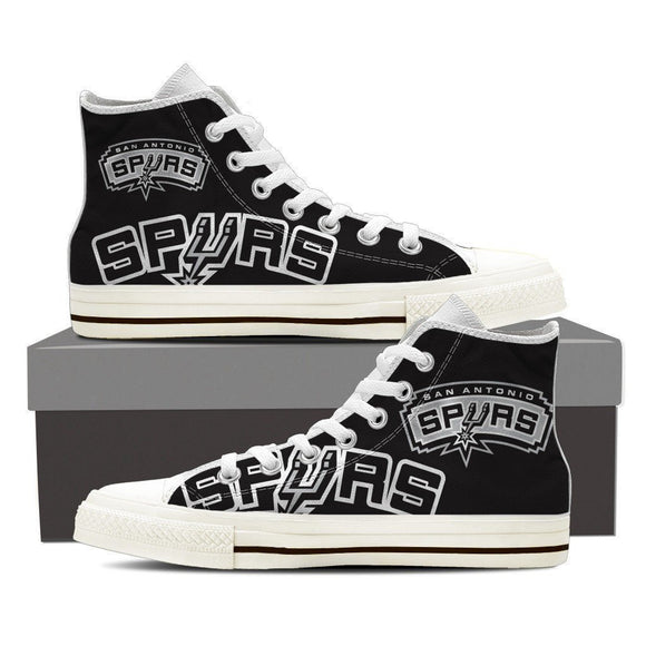 spurs new mens high top sneakers high top