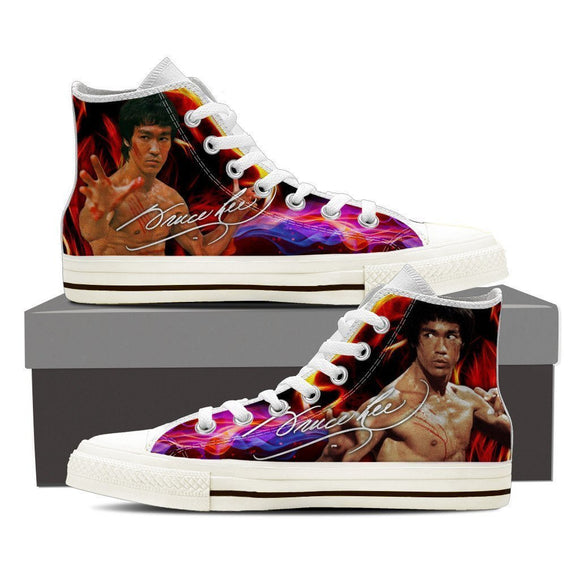 bruce lee sneaker mens high top sneakers high top