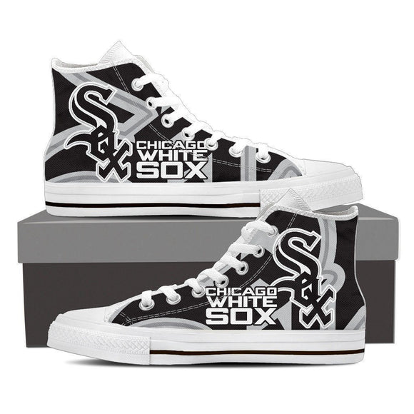 chicago white sox new ladies high top sneakers