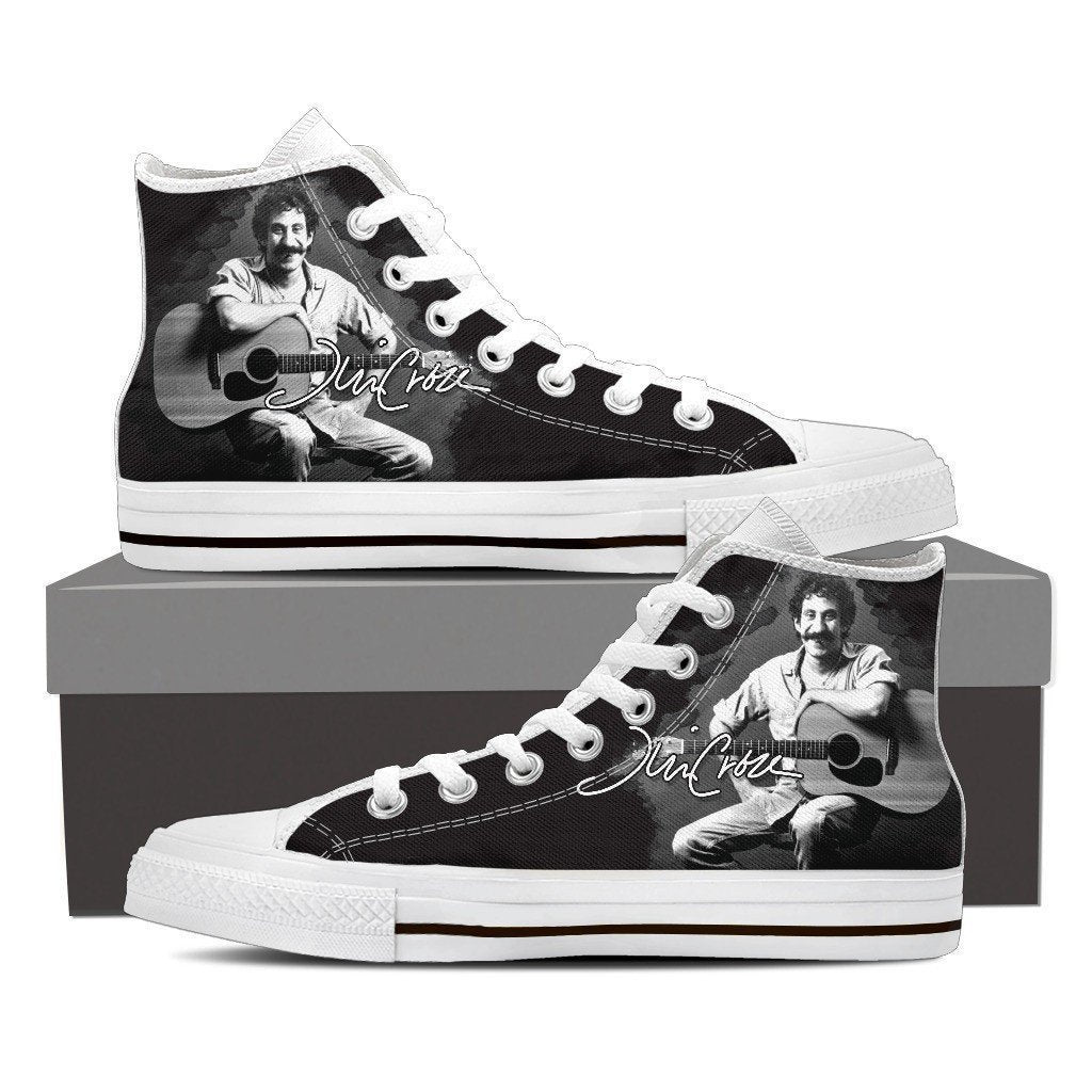 jim croce ladies high top sneakers