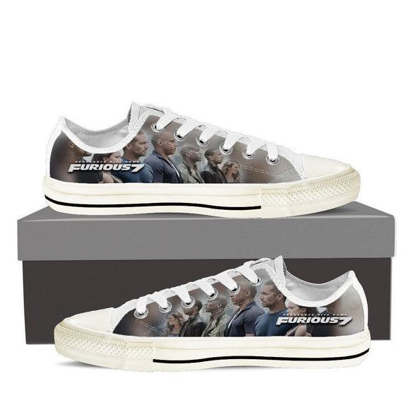 furious 7 mens low cut sneakers cut