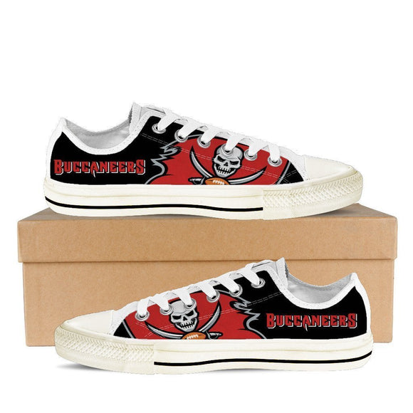 tampa bay buccaneers ladies low cut sneakers