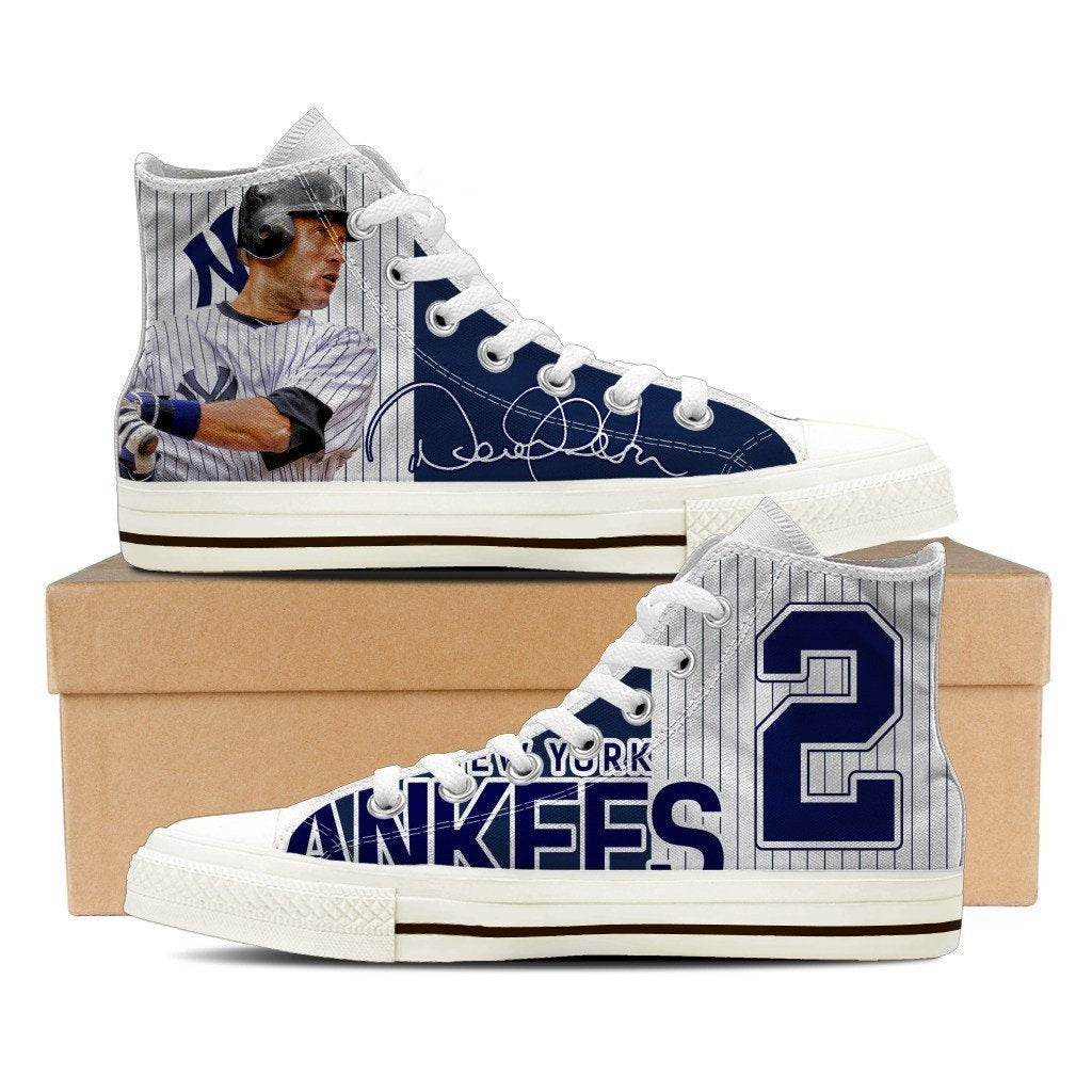 derek jeter mens high top sneakers high top