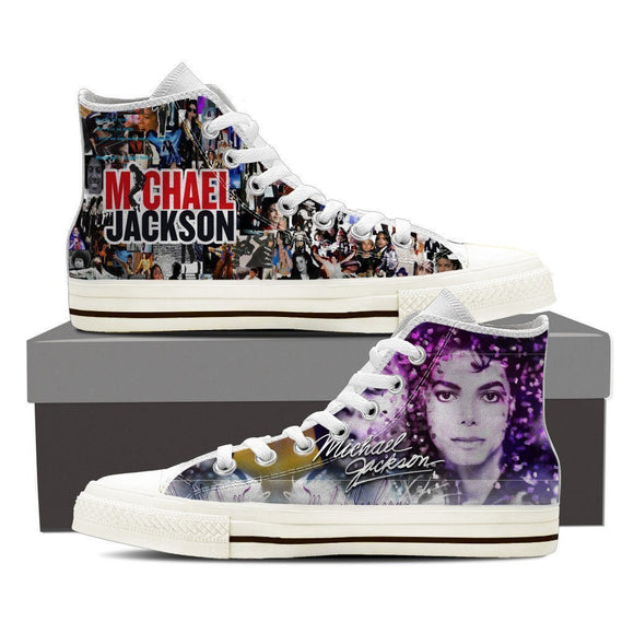 michael jackson ladies high top sneakers