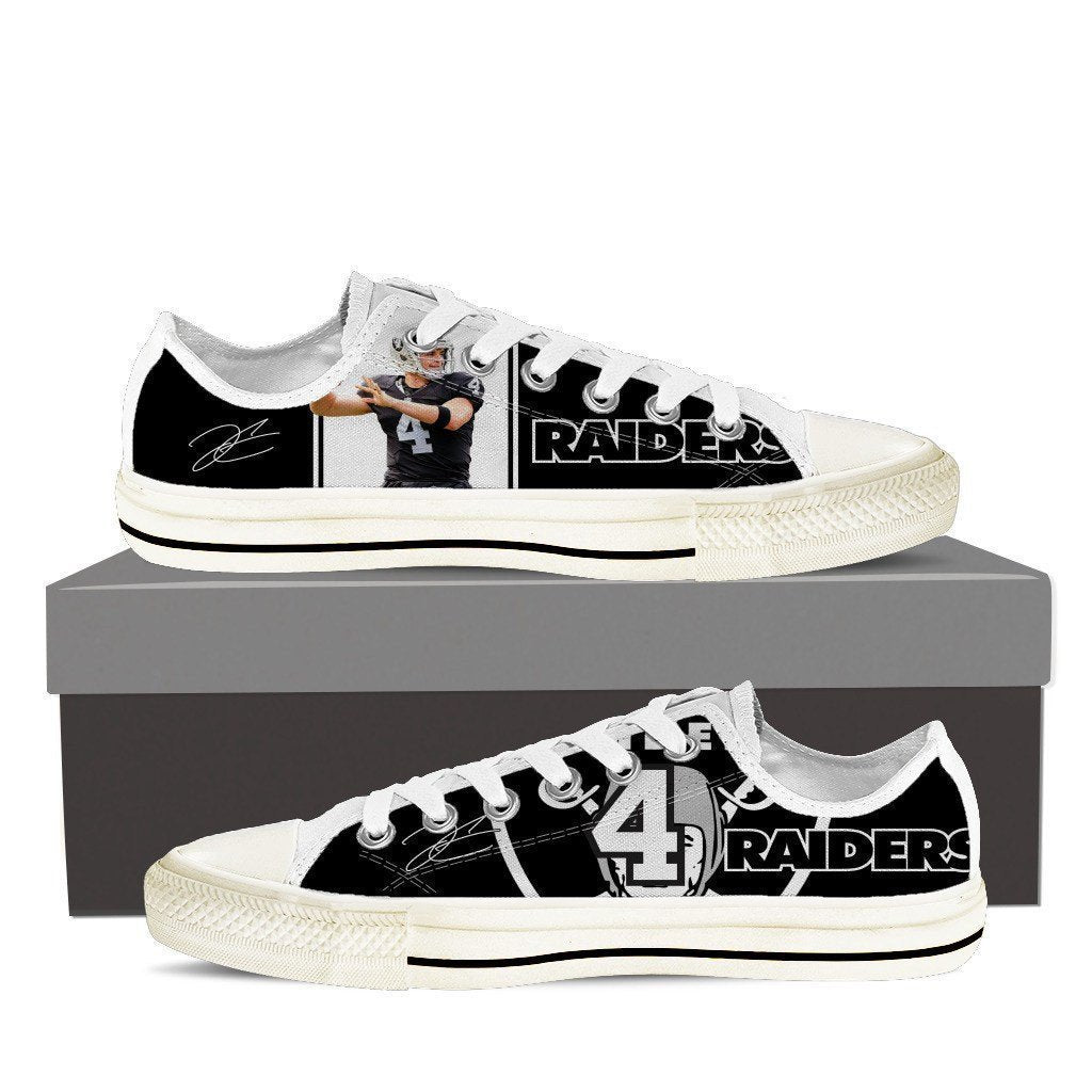 derek carr ladies low cut sneakers