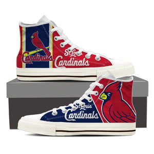 st louis cardinals ladies high top sneakers