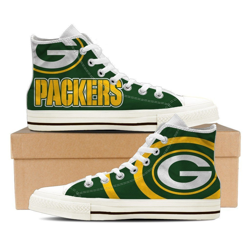 green bay packers mens high top sneakers high top 1