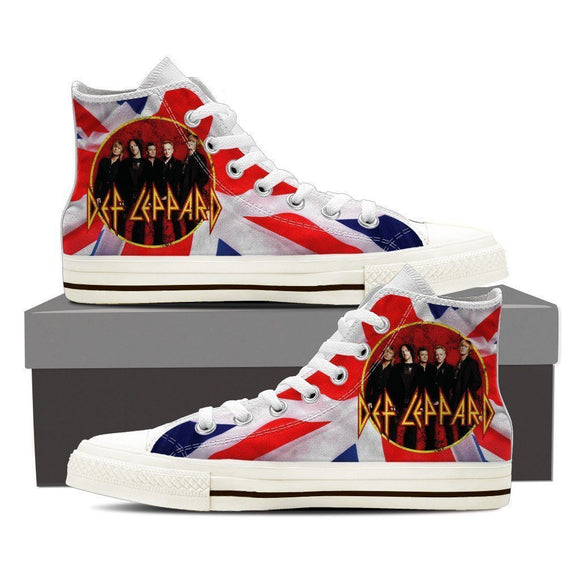 def leppard new ladies high top sneakers