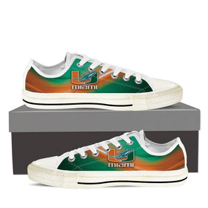 dolphins um ladies low cut sneakers