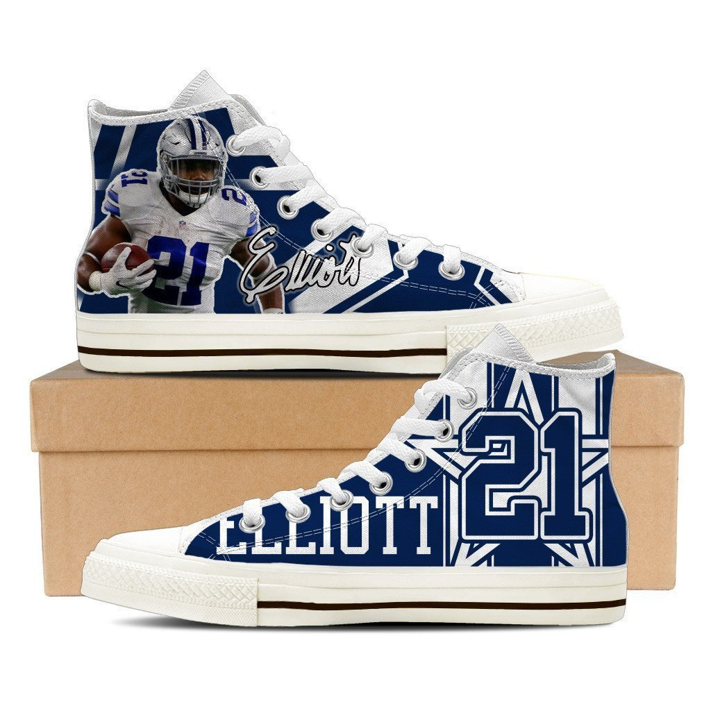 ezekiel elliott ladies high top sneakers