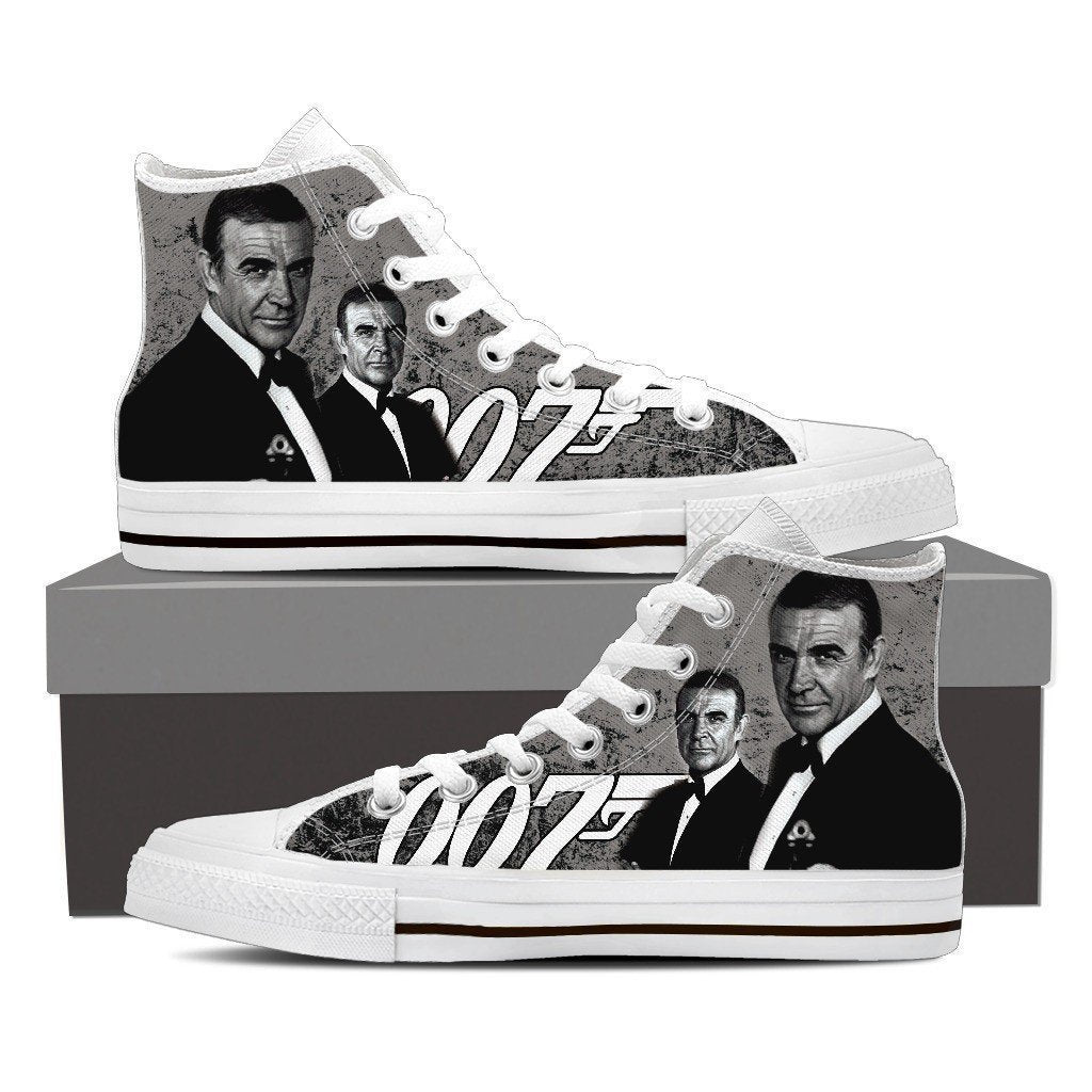 sean connery ladies high top sneakers