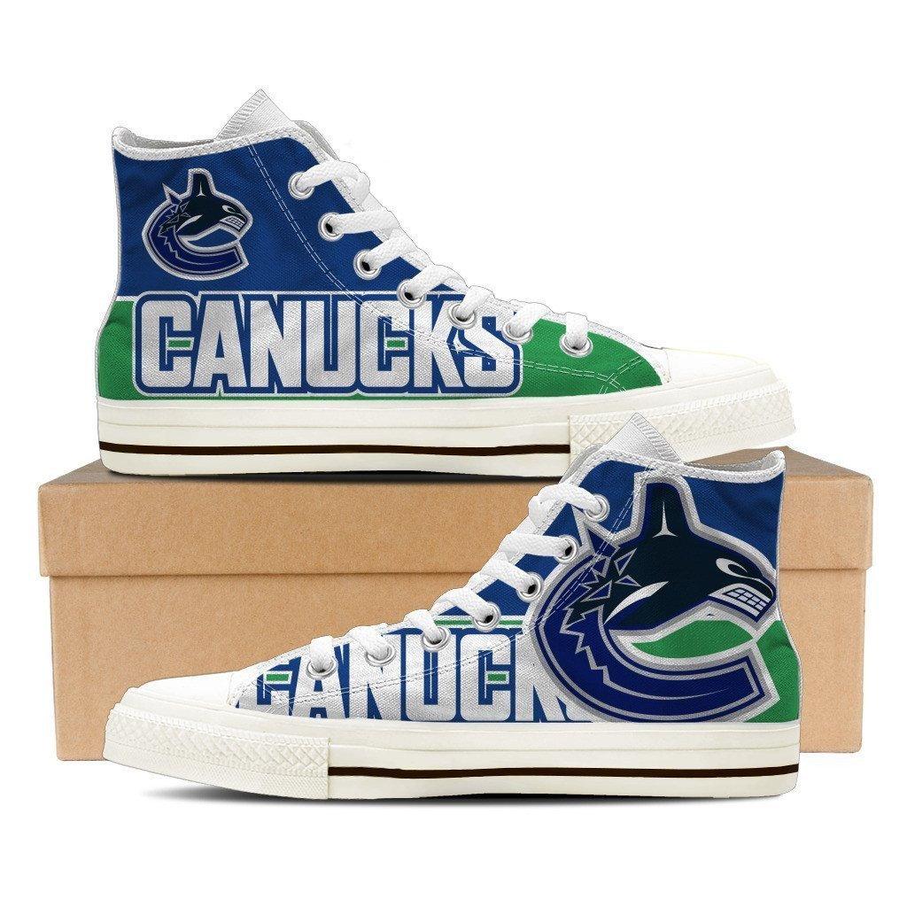 vancouver canucks mens high top sneakers high top