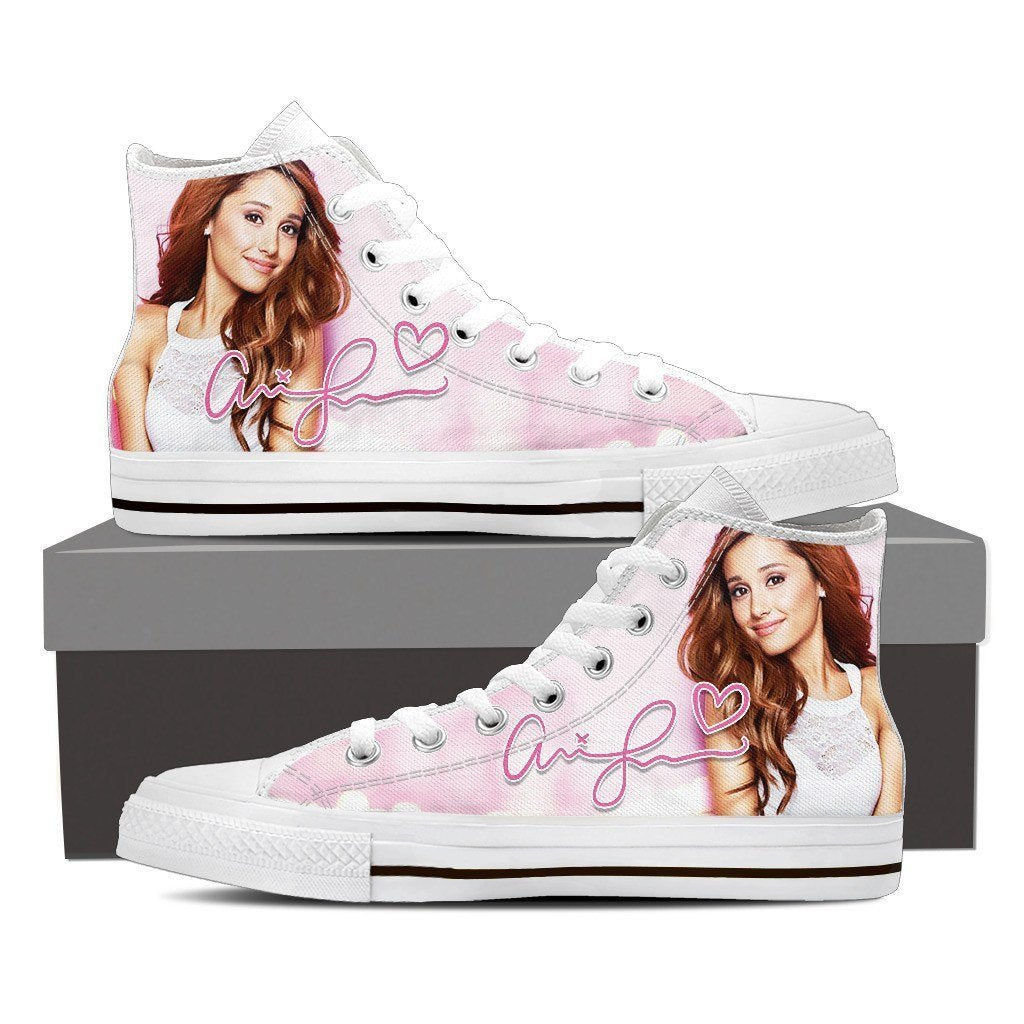 ariana grande mens high top sneakers