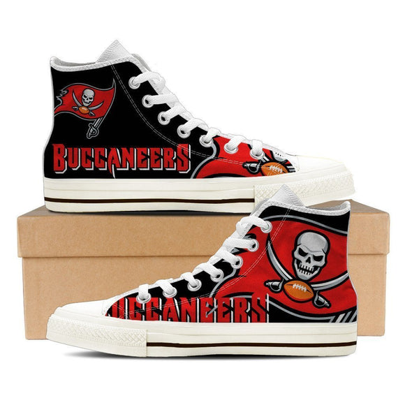 tampa bay buccaneers mens high top sneakers high top