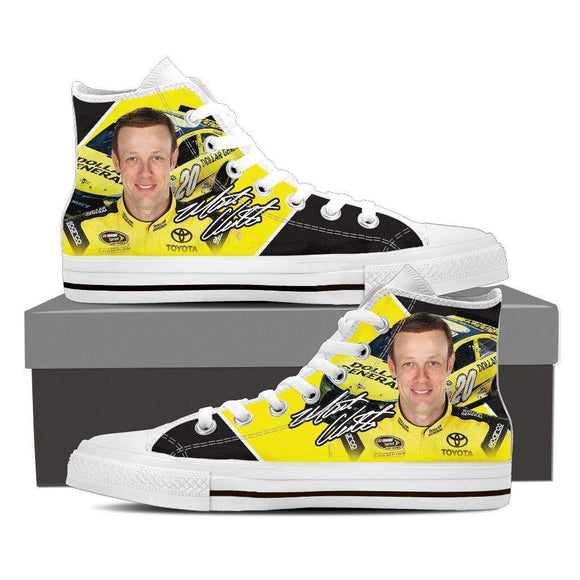 matt kenseth ladies high top sneakers