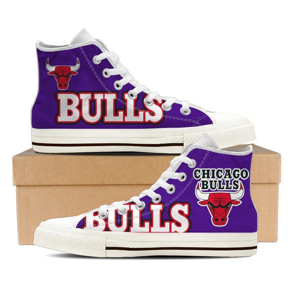 chicago bulls ladies high top sneakers