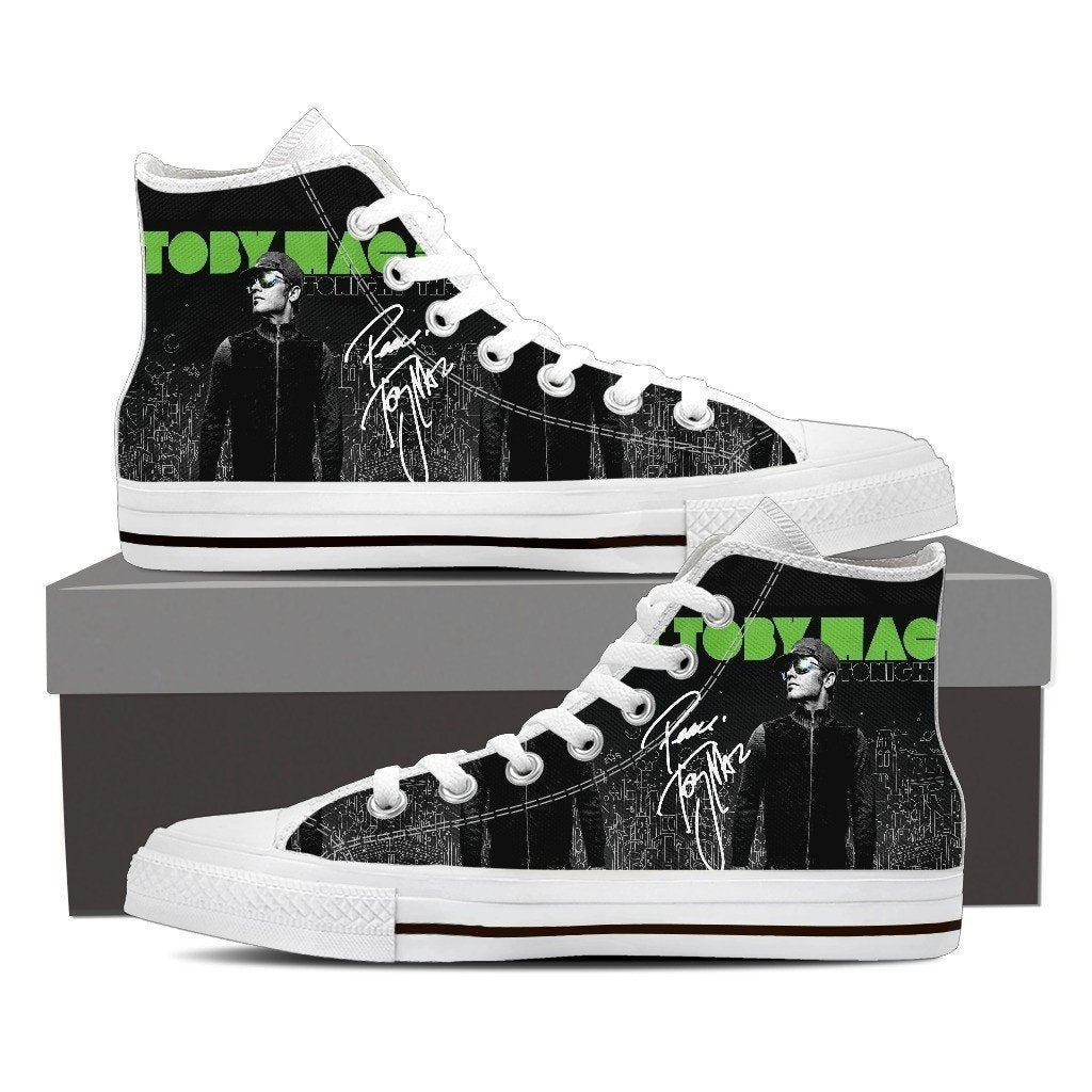 tobymac ladies high top sneakers