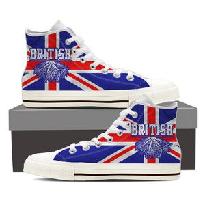 british roots new mens high top sneakers high top