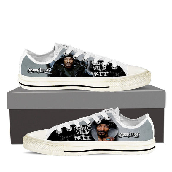 snoop  ladies low cut sneakers