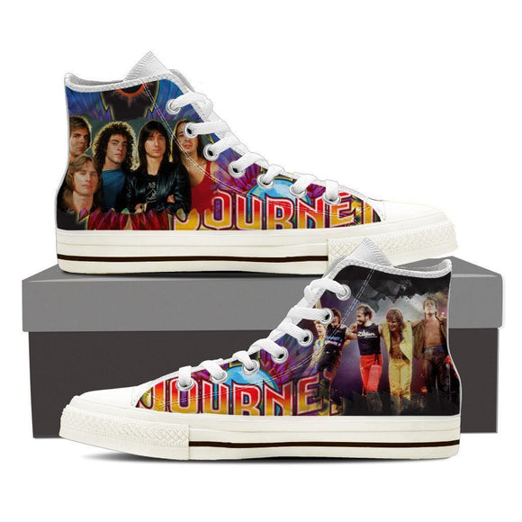 journey band mens high top sneakers