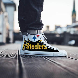 pittsburg steelers mens high top sneakers high top 1
