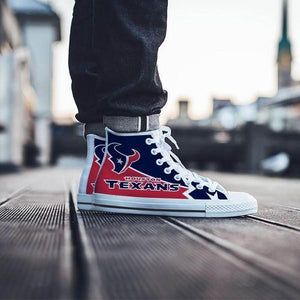 houston texans mens high top sneakers high top