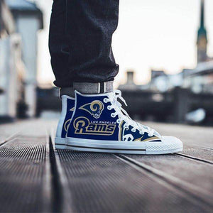 los angeles rams mens high top sneakers high top